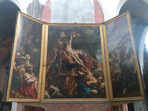 キリスト降架はアントワープのノートルダム寺院にかかるルーベンスの宗教画フランダースの犬にも登場した